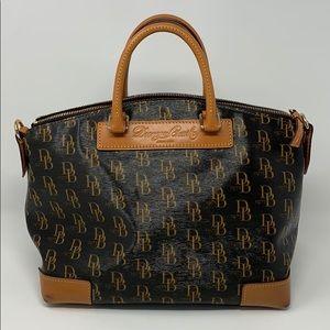 Dooney & Bourke 1975 Signature Vanessa Satchel Bag